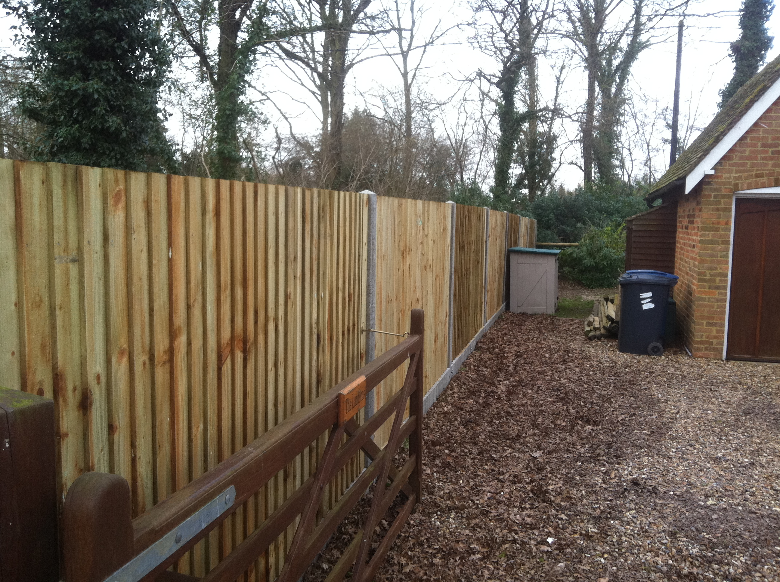Garden Fence Archives Quality Fencing And Gates